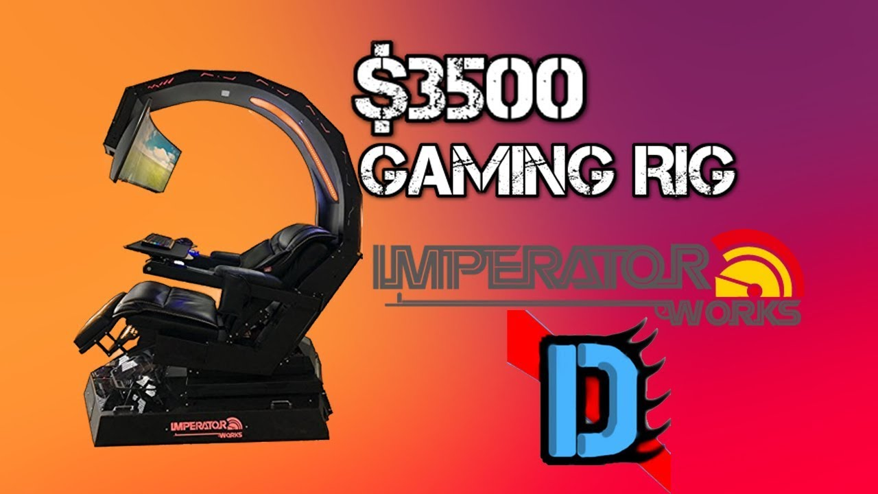 Imperator Works Gaming Chair Cover Hire Online 3500 Rig Iw R1 Youtube Setup Imperatorworks
