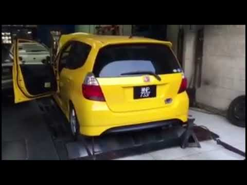 2005 Honda Fit Jazz GD3 1 5L L15A VTEC Engine Dyno Exhaust Sound