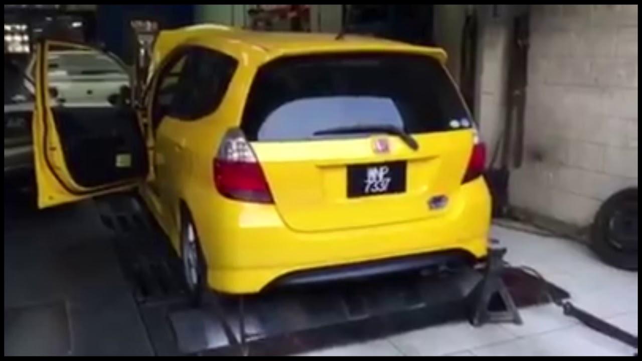 2005 Honda Fit Jazz Gd3 1 5l L15a Vtec Engine Dyno Exhaust Sound