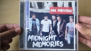 Midnight Memories - One Direction (Album Deluxe Edition) - Unboxing Cd