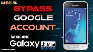 Bypass Google Account Samsung J1 mini [SM-J105, SM-J106] Remove FRP