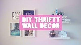 ✂ Diy Thrifty Wall Decor