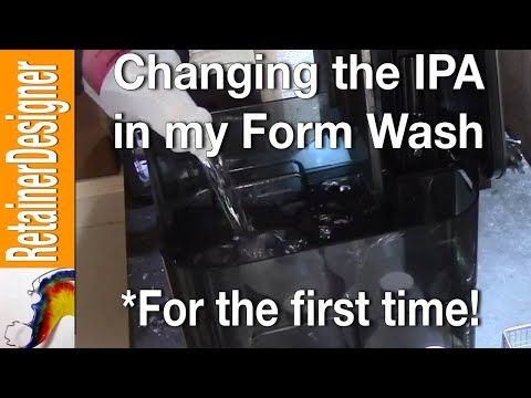 Replacing the IPA in My Form Wash (for the first time!)