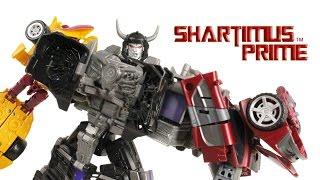 Transformers Menasor Combiner Wars Generations Stunticons Action Figure Review