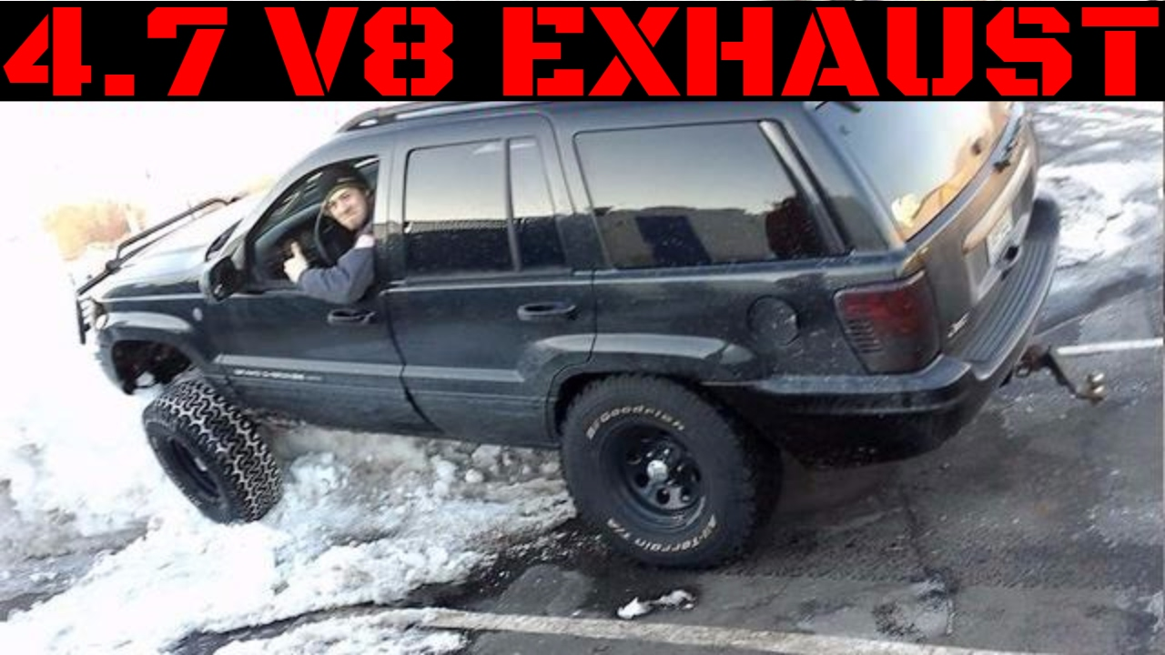 jeep grand cherokee wj magnaflow exhaust video