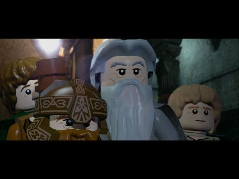 LEGO Lord Of The Rings Walkthrough Part 5 - The Mines Of Moria