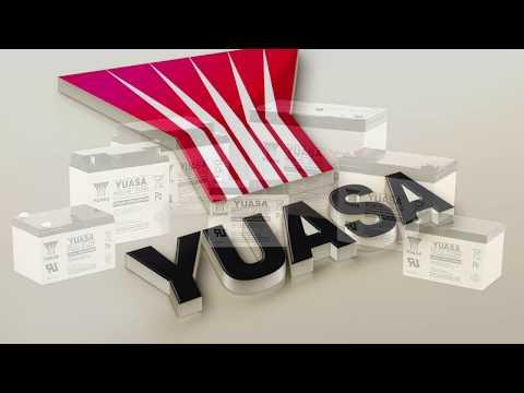 YUASA Lead battery