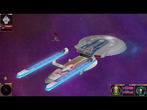Star Trek Bridge Commander Excelsior Vs Defiant & Ancient Aurora Class Vs Star Trek Ships