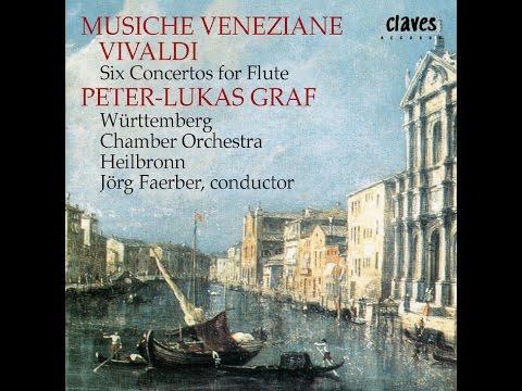 """Peter-Lukas Graf, Flute - Antonio Vivaldi: Concerto in D Major Op. 10/3, """"Il Gardellino"""" RV 428"""