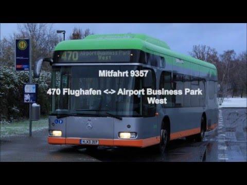 Mitfahrt 9357 - Linie 470 Flughafen - Airport Business Park West und zurück