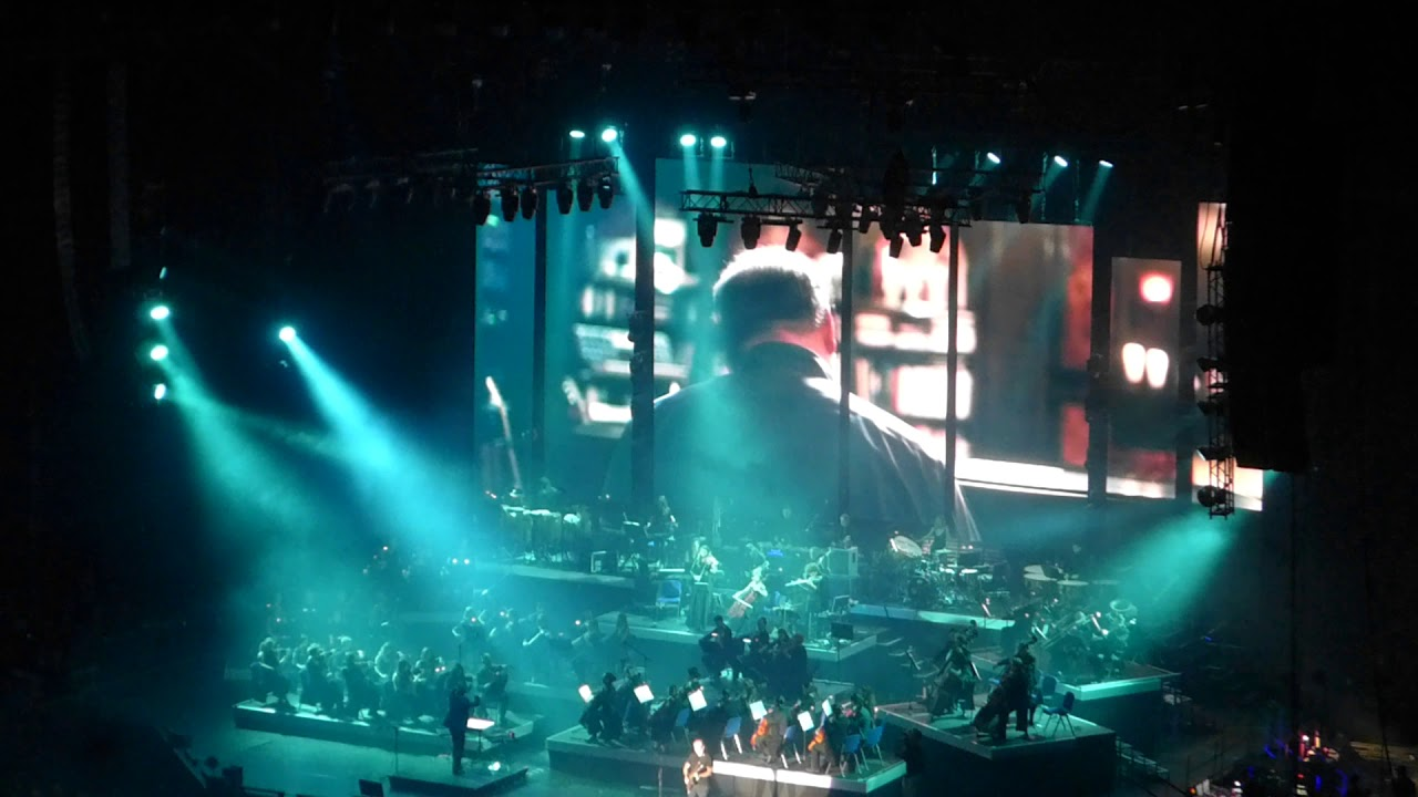 Inception, Hans Zimmer at Mercedes-Benz Arena, Berlin, Germany 29.04 ...