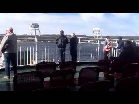 Ernie on Bute ferry