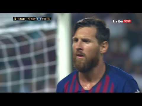 Barcelona 2-1 Sevilla | İspanya Süper Kupası