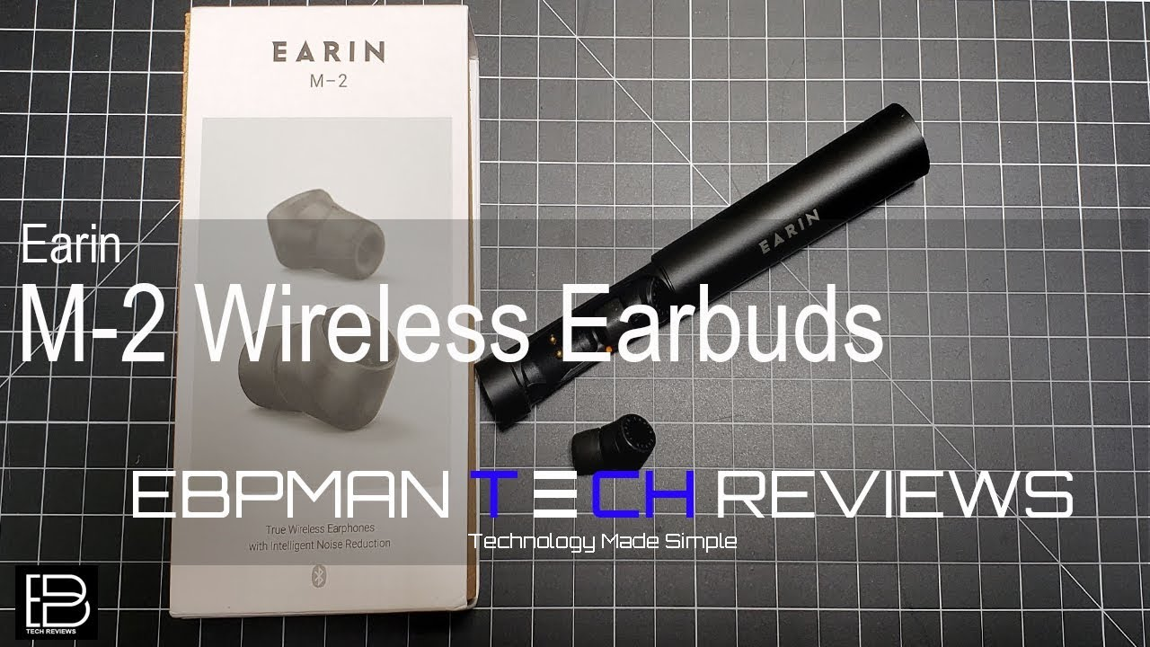 New Earin M-2 True Wireless Earbud Review and Call Quality Audio
