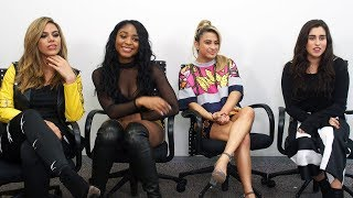 FIFTH HARMONY Shows Their Funny Hidden Talents In JAPAN! フィフス・ハーモニー再来日インタビュー 2017年9月