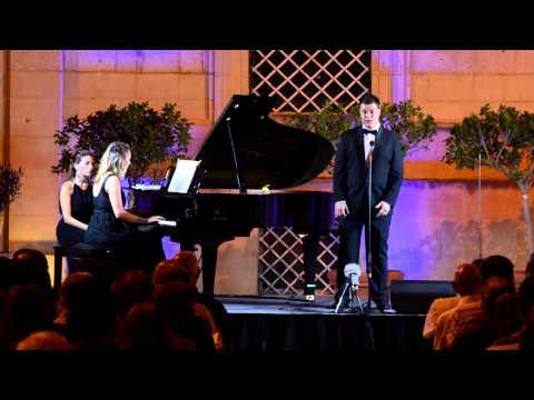 R.Strauss - Morgen. Pianist - Laila Barnat  Tenor - Cliff Zammit Stevens
