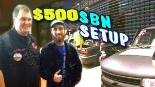 World Record Budget Build w/ Drew Wesley's $500 Car Audio System | 4 12