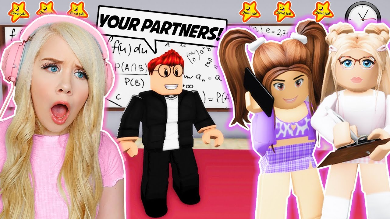 Download GROUP PROJECT WITH MY BULLY IN BROOKHAVEN! (ROBLOX BROOKHAVEN RP)