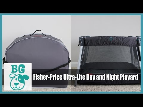 BG Review: Fisher Price Ultra Lite Day And Night Playard