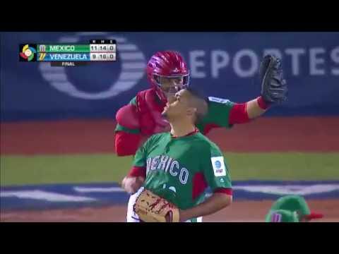 Mexico vs Venezuela | 11 - 9 | Resumen | World Baseball Classic 2017