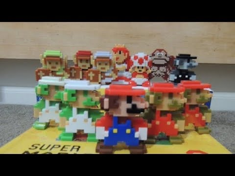 """Let's Review My Collection: World Of Nintendo 8-Bit 2.5"""" Figures"""