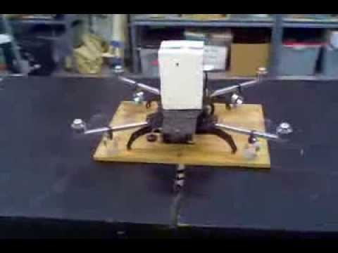 "Turbo Ace Quadcopter ""Tie Down"" Test"