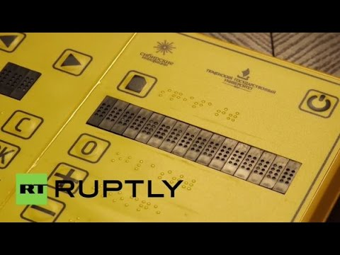 Russia: SEEALL with Russia's brand new braille e-reader