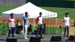 One Direction What Makes You Beautiful Live Dr Pepper ballpark