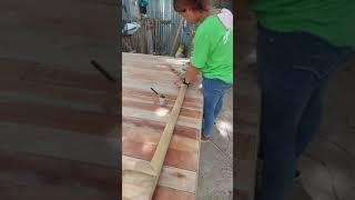 Bamboo Grove Furniture Sanding