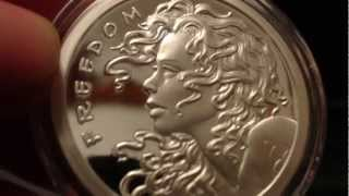SBSS: Freedom Girl Silver Proof Medallion Unboxing