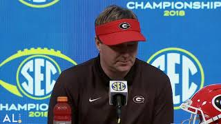 Hear what Kirby Smart, Georgia players had to say following the Bulldogs' 2018 SEC Championship loss