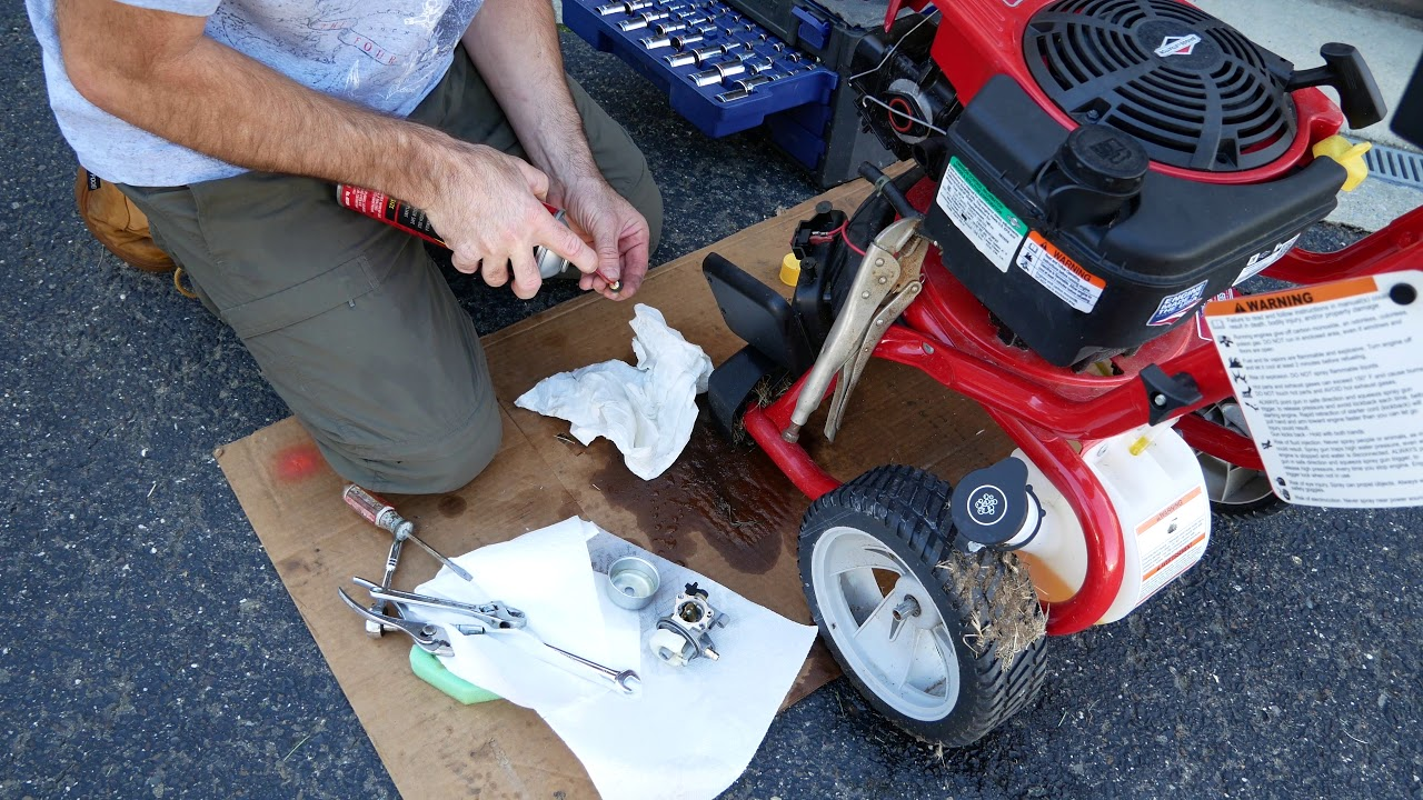 How to Fix a Pressure Washer That Won't Start / Troy Bilt Pressure Washer /  Briggs and Stratton