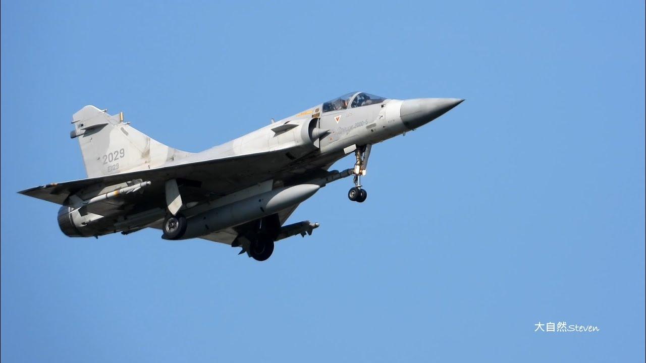 20200918美次卿柯拉奇(Keith Krach)訪台,共機擾台~我空軍新竹基地警戒機升空,第一批次回航畫面 ROCAF fighter jets  in  Action !