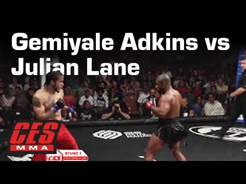 CES MMA XXIV: GEMIYALE ADKINS vs JULIAN LANE