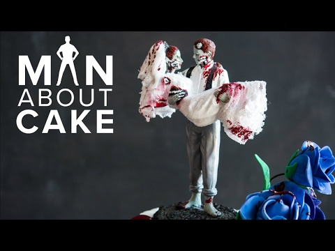 Undying Love (not your average wedding) Cake | Man About Cake with Joshua John Russell