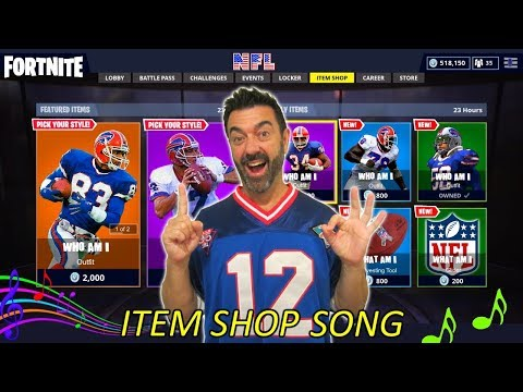 Buying NEW NFL Skins - Showing ALL TEAMS - Item Shop Countdown/Song - Battle Royale - Cralin