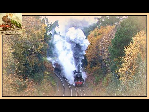 Black 5 44871 in High Drama on The Bath & Bristol Christmas Markets 28th Nov.