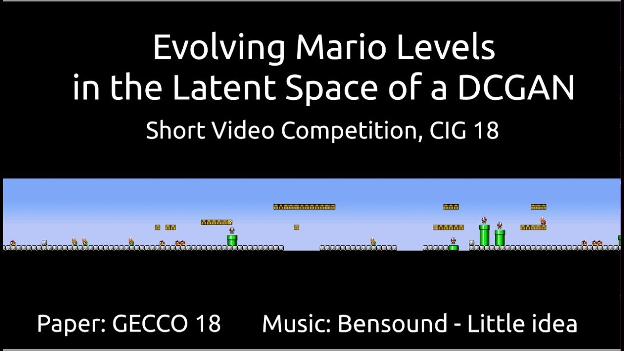 The Super Mario Makers: How Machine Learning is Building Super Mario