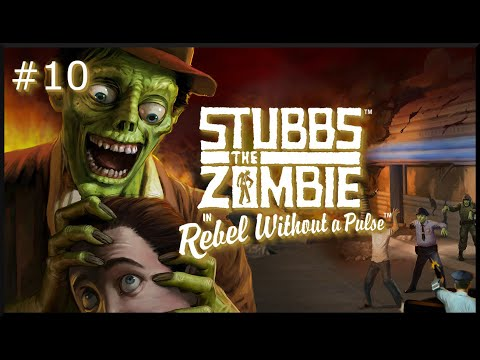 Stubbs the Zombie in Rebel Without a Pulse: Level 10 - The Doctor Will See You Now |