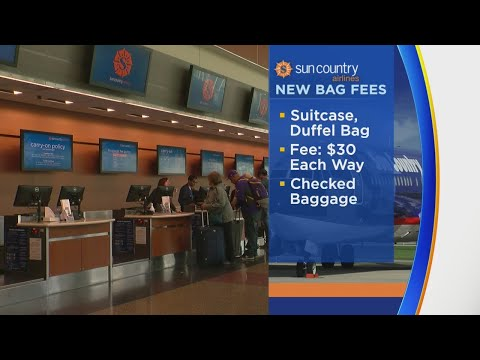 Sun Country Airlines Implements Fee For Carry-On Bags
