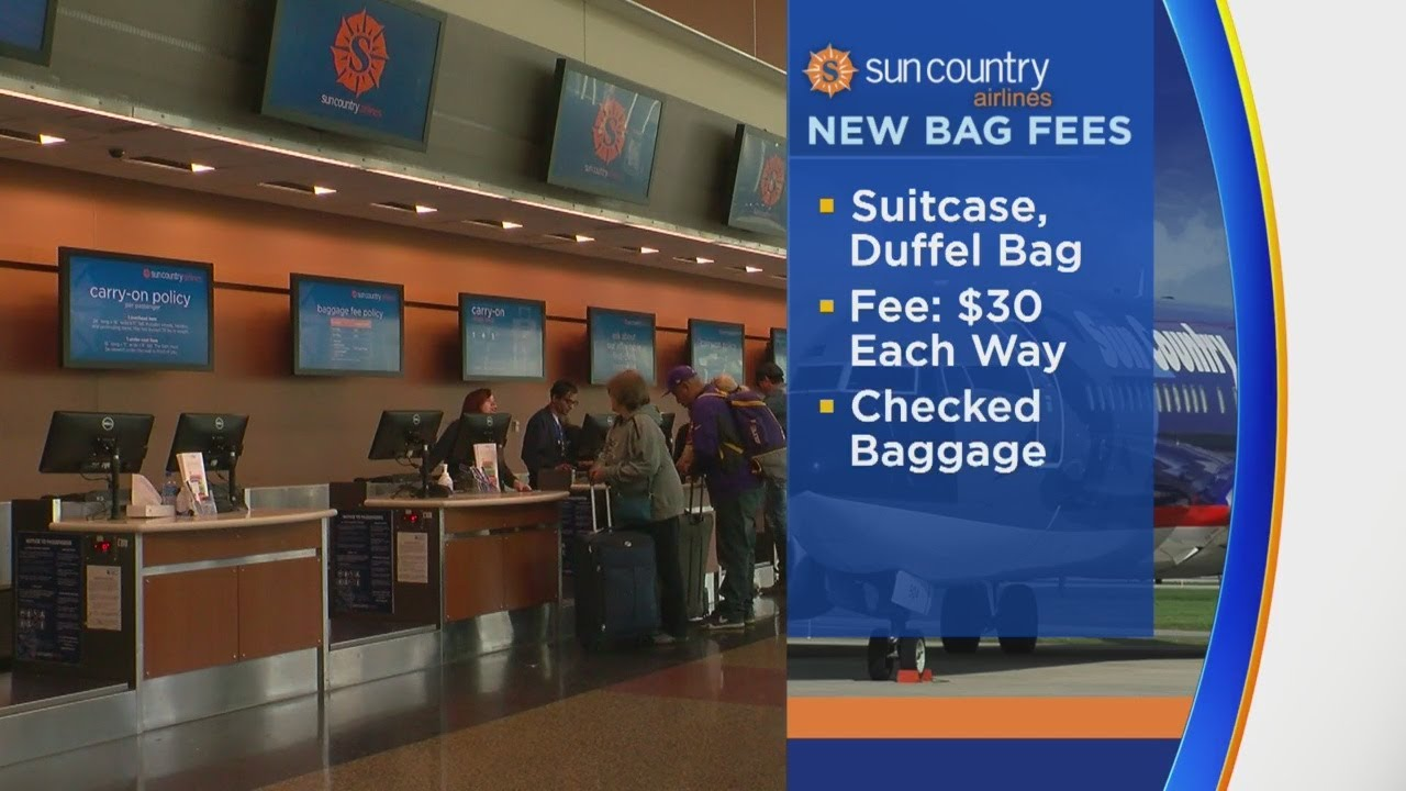Sun Country Airlines Implements Fee For Carry On Bags