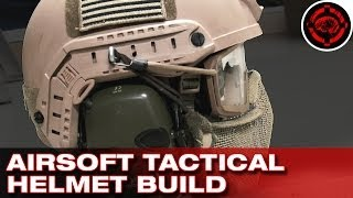 Building a Tactical Airsoft Helmet System (Goggles, Mesh, Ear Protection & Helmet)