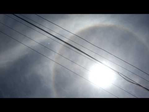 Halo solar en Paraguay