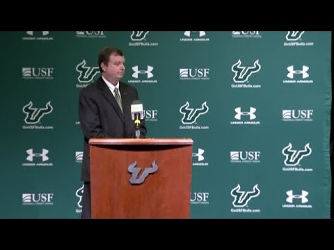 Full press conference: Charlie Strong introduced as new head coach of USF football