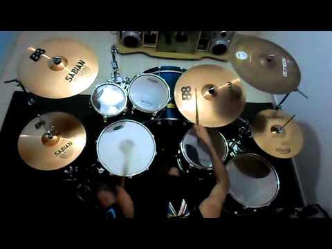 Shaman - Here I am (Drum cover) - Marcelo Monteiro
