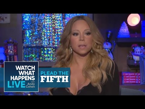 Mariah Carey Hooked Up With Her Backup Dancer? | Plead the Fifth | WWHL