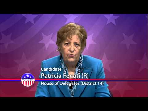 Patricia Fenati (R) Candidate for Maryland House of Delegates District 14