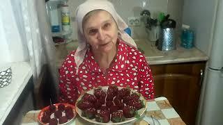 Салат Ягодки. Закуска на праздничный стол. Рецепт постный. #суфикс
