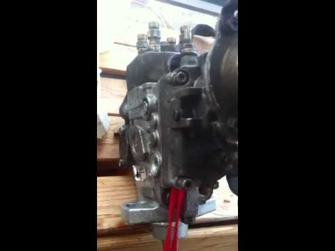 Pajero 4m40 Fuel Pump Head Replacement Trick Youtube