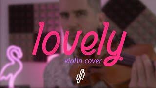lovely - Billie Eilish Violin Cover